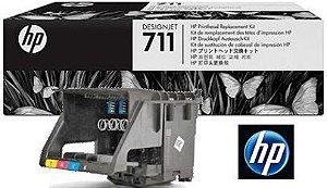Cabeça de Impressão HP 711 C1Q10a Kit Único para Plotter T120 E T520
