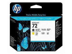 Cabeça de Impressão HP 72 Peto Mate e Amarelo C9384a
