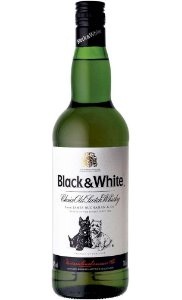 Whisky Black and White 8 anos 1L