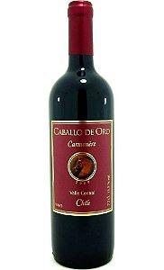 Vinho Caballo de Oro Carménère Tinto 750ml