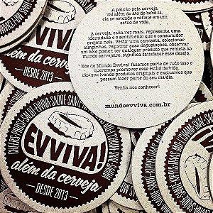 Kit Bolachas Letterpress Evviva! (5 Unidades)