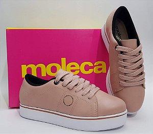 Tênis Moleca rosê 5284519