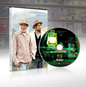 DVD - Zé Geraldo e Francis Rosa - Cantos e Versos