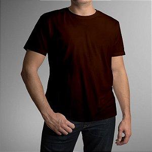 Camiseta Adulto - Marrom