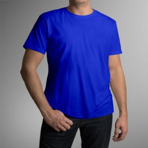 Camiseta Adulto - Azul Royal
