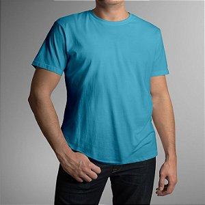 b4cd417e8 Camiseta Adulto - Azul Turquesa