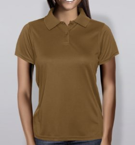 88a8ee821d Polo em Piquet Feminina - Verde Bandeira - KG Camisetas Personalizadas