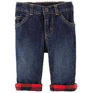 Calça Jeans forrada da Carter's