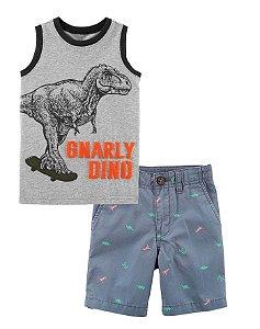 Conjunto Carter's Dinossauro