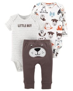 "Conjunto ""LITTLE GUY"" da Carter's,"