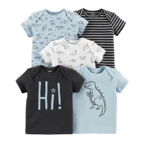 Kit de camisetas  da Carter's