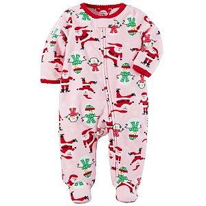 Macacão Carter's Papai Noel em fleece