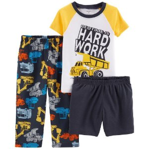 Conjunto Hard Work da Carter's