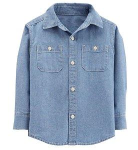 Camisa estilo jeans da Carter's