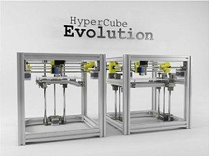 Kit de peças impressas para Hypercube Evolution em ABS (DUAL Z)