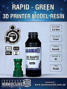 Monocure DLP - Green - 500Ml - Resina para impressora 3D