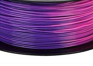 Filamento PLA Color Change - Roxo > Rosa 1,75mm 1KG - 3D Tech Filament ®