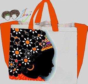 Bolsas Afro  modelo sacola - 3