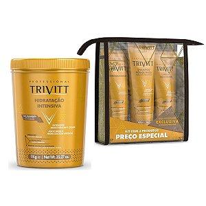Kit Manutenção Trivitt + Máscara De Hidratação Intensiva 1kg