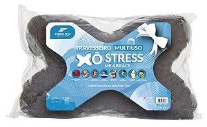 Travesseiro Multiuso - Xô Stress  - 50CM X 70CM - Fibrasca