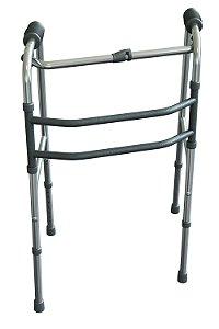 Andador de Alumínio (Articulado) - Dobrável - Mercur