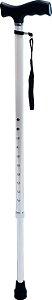 Bengala Bastão | Tipo T com Regulagem de Altura em Alumínio | Mod. D8 | Dellamed