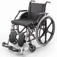 Cadeira de Rodas -  PL 102  - 44cm - PROLIFE