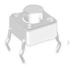 Botão Interruptor 6x6x5mm Push Button