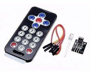 Módulo Controle Remoto Infravermelho Receptor Arduino
