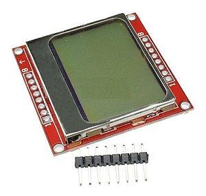 Módulo Visor Lcd 84x48 Led Backlight Arduino