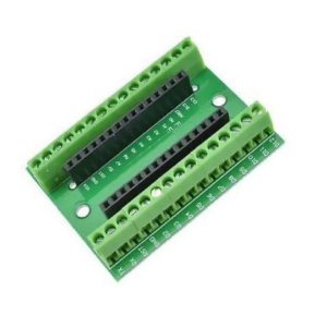Placa Borne Terminal Adaptador Arduino Nano V3.0
