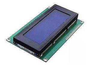Display Lcd 20x4 2004 Fundo Azul Arduino
