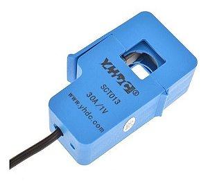 Sensor De Corrente Ac 30a Sct-013-030 Não Invasivo