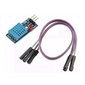 Módulo Sensor De Umidade Temperatura Dht11 c/ Led indicador