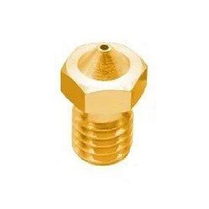 Bico Nozzle 1.75mm 0,5mm 6mm Impressora 3d V6 V5