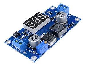 Regulador De Tensão Step-down Xl6009 C/ Voltímetro