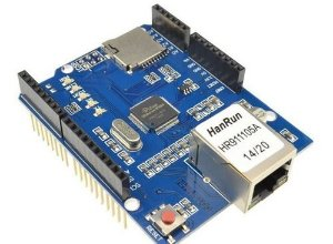 Placa Ethernet Shield W5100 Modulo Rede Arduíno