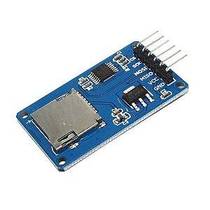 Modulo Leitor Cartão Tf Micro Sd Spi
