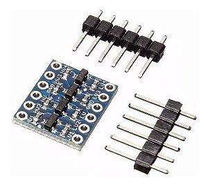 Conversor Nível Lógico Bidirecional I2c 5v-3,3v