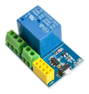 Módulo Relé Wi-fi Para Esp-01s Esp8266