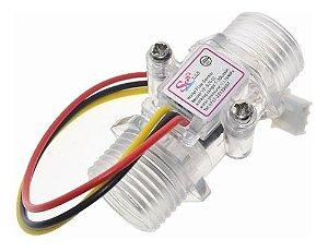 Sensor Medidor De Fluxo Agua 1/2 Pol Transp Arduino