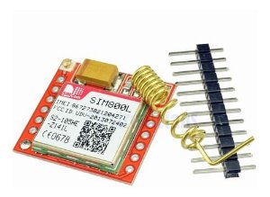 Módulo Mini Gsm Gprs Sim800l Arduino
