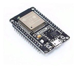 Placa Esp-32 Wi-fi E Bluetooth Esp32 Esp32s C/ Furos Arduino