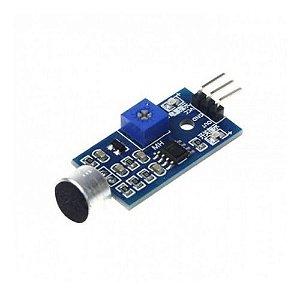 Detector De Som Palmas Módulo P/ Arduino