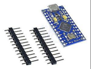 Placa Pro Micro Atmega32u4 5v 16mhz Usb