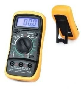 Multímetro Digital Lcd Com Cabo De Multiteste Testador