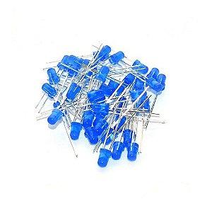Led 3mm Comum Azul