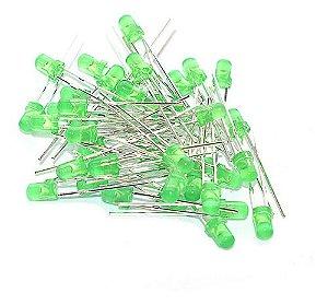 Led 3mm Comum Verde