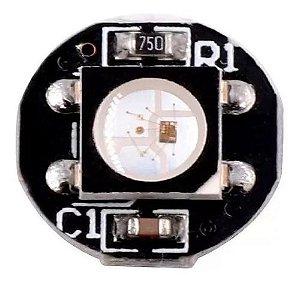 Led Rgb Ws2812b 10x3mm Smd 5050 Endereçável - Preto