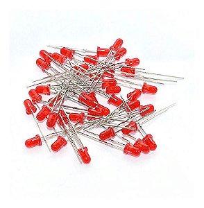 Led 5mm Comum Vermelho